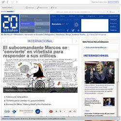 El subcomandante Marcos se 'convierte' en viñetista para responder a sus críticos