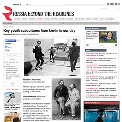 Key youth subcultures from Lenin to our day