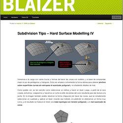 Subdivision Tips – Hard Surface Modelling IV