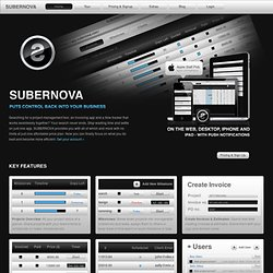SUBERNOVA - Project management, task management, team collaborat
