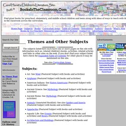 Subjects and Themes Index from Carol Hurst's Children's Literature Site
