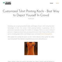 Sublimation Jersey Printing Kerala