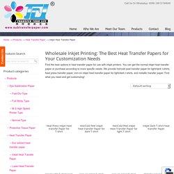 Inkjet Heat Transfer Paper Archives - Dye Sublimation Paper & Sublimation Ink Manufacturer