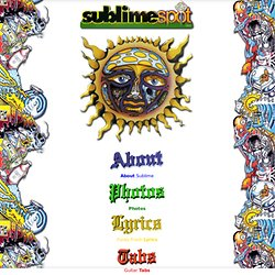 Sublime Spot - Sublime Band Page