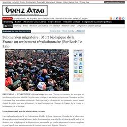 Mort biologique de la France ou revirement révolutionnaire