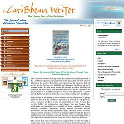 The Caribbean Writer - Submission Guidelines