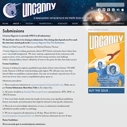 Submissions - Uncanny Magazine