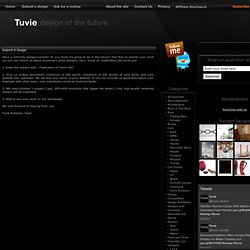 Submit A Design | Tuvie – Industrial Design and Future Technolog