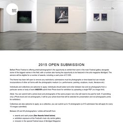 Submit — Belfast Photo Festival