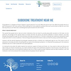 Suboxone Doctors: Call For Help