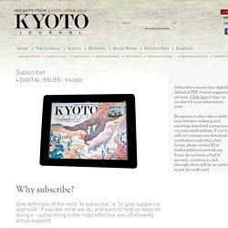 Kyoto Journal