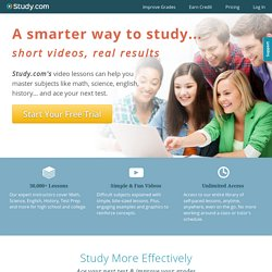 Subscribe to Study.com