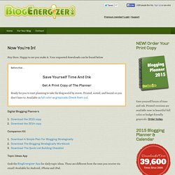 Subscription Confirmed - Blog EnergizerBlog Energizer
