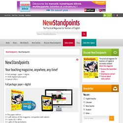 Subscription NewStandpoints's magazine: Full package: paper + digital, 100% digital subscription