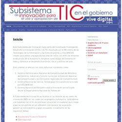 Subsistema de Innovación para el Uso y Apropiación de TIC en el Gobierno