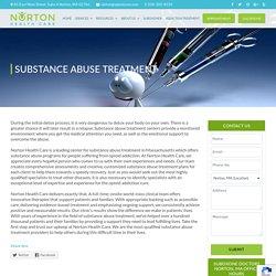 Substance Abuse Treatment in Massachusetts, Subutex, Suboxone Clinic