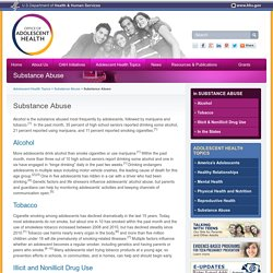 Substance Abuse - The Office of Adolescent Health