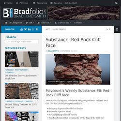 Substance: Red Rock Cliff Face