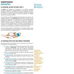 Substances dopantes