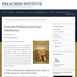 Orthodox Problems with Penal Substitution