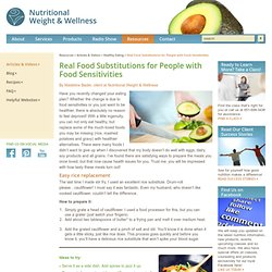 Real Food for People with Food Sensitivities
