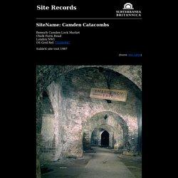 Subterranea Britannica: Sites: camden_catacombs