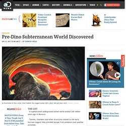 Pre-Dino Subterranean World Discovered