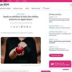 Apple va subtiliser le trafic des médias présents sur Apple News+