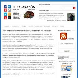 Metaweb y otros sobre la web semántica