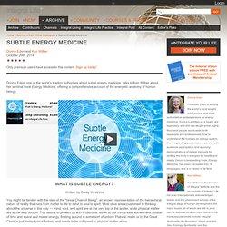 Subtle Energy Medicine
