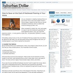 Suburban Dollar — Where finance and reality meet