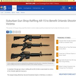 Suburban Gun Shop Raffling AR-15 to Benefit Orlando Shooting Victims