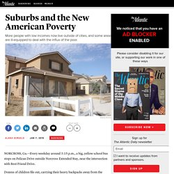 Suburbs and the New American Poverty