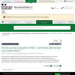 Comment une association peut-elle accéder au Fonds social européen (FSE)? - associations