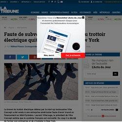 Faute de subventions, l'inventeur du trottoir électrique quitte Toulouse pour New York