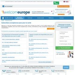 Liste des Subventions européennes et fonds européens en matière de Santé