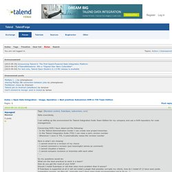 Best practices Subversion SVN in TIS Team Edition (Page 1) / Open Data Integration - Usage, Operation / Talend Community Forum