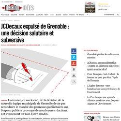JCDecaux expulsé de Grenoble : une décision salutaire et subversive