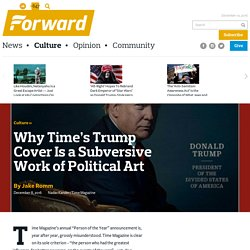 Why Time's Trump Cover Is a Subversive Work of Political Art - Culture
