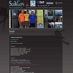 Subvision - Centre de plongée à Juan-les-Pins