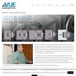 Isobaric Subwoofer Design — VUE Audiotechnik