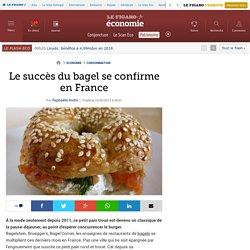 Le succès du bagel se confirme en France