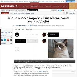 Ello, le succès imprévu d'un réseau social sans publicité