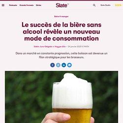 Le succès de la bière sans alcool révèle un nouveau mode de consommation