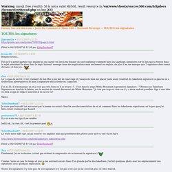 Forum Succes360.com » Jeux Du Commerce Xbox 360 » Burnout Revenge » TOUTES les signatures