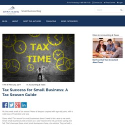 Tax Success for Small Business: A Tax Season Guide