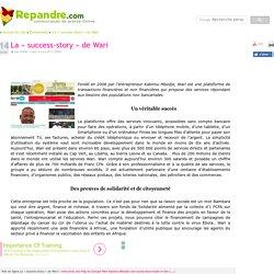 La « success-story » de Wari - Communiqué de presse