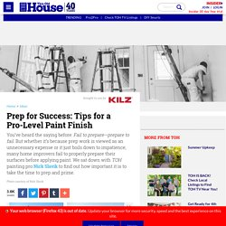 Prep for Success: Tips for a Pro-Level Paint Finish