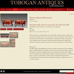 Zwiener Jansen SuccesseurPaire de commodes de style Louis XV - Tobogan Antiques