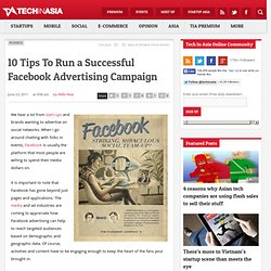 10 Tips To Run a Successful Facebook Advertising Campaign | Penn Olson